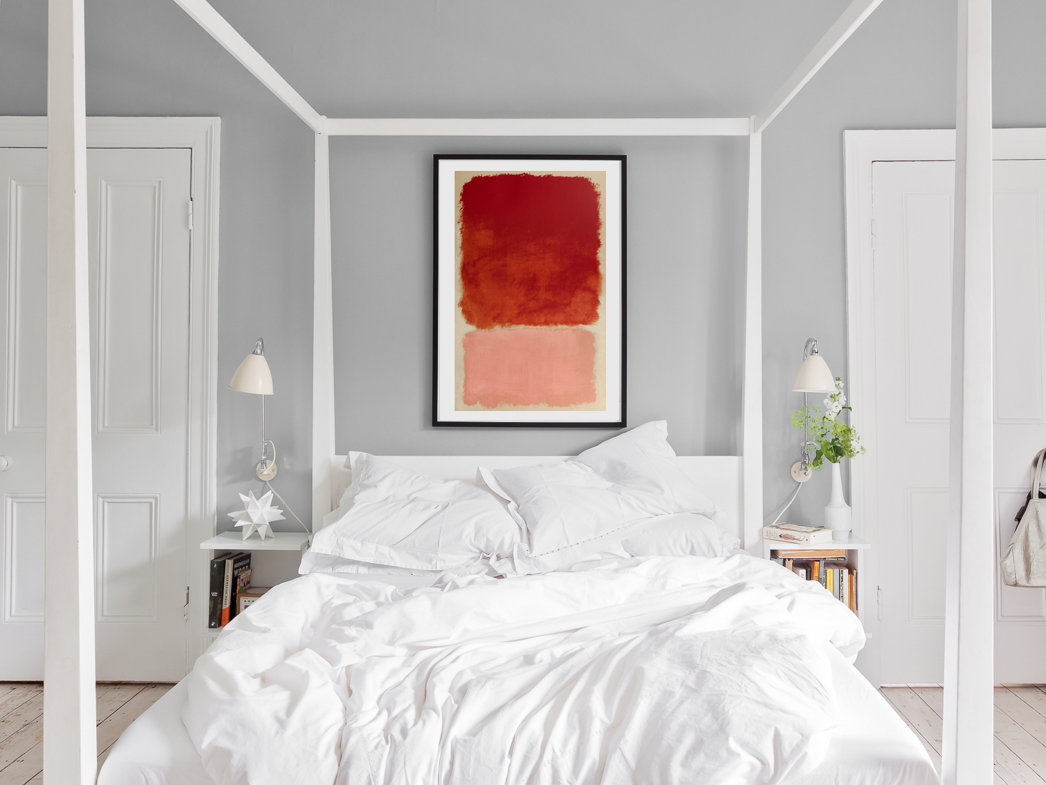 10 ways to make your bedroom romantic with art   King & McGaw